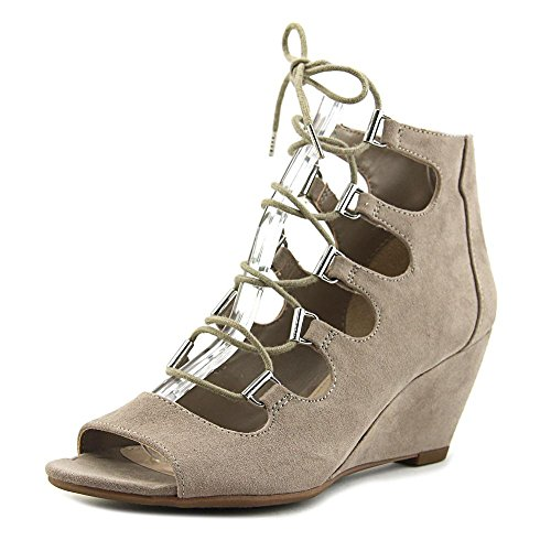 B35 Kerry Lace Up Gladiator Wedge Sandals - Portico Portico