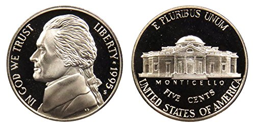 1995 S Proof Jefferson Nickel PF1