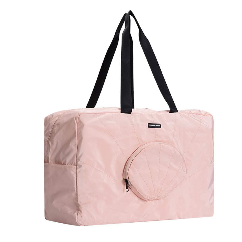 Sunyastor Folding Travel Duffel Bag Lightweight Foldable Sports Gym Waterproof Storage Luggage Bag Carry-on Shoulder Bag