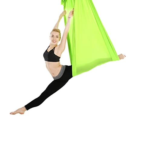 DaQingYuntur Hamaca de Yoga aérea microelástica, Tela de ...