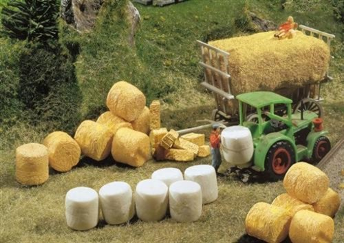 Faller 272562 Silo & Straw Bales N Scale Scenery and Accessories