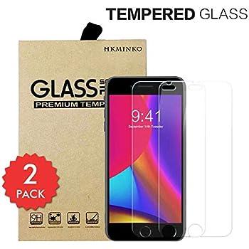 UNEXTATI/® Premium Scratch Resistant Screen Protector 2 PACK iPhone 6 Plus // 6S Plus // 7 Plus // 8 Plus Tempered Glass Screen Protector HD Clear Tempered Glass Film for iPhone 6 // 6S // 7//8