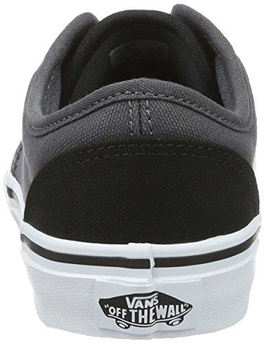 Vans Jungen YT Atwood Sneakers Schwarz (2 Tone)