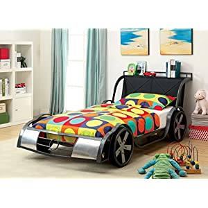 Furniture of America Racer 44 Metal Youth Bed, Twin