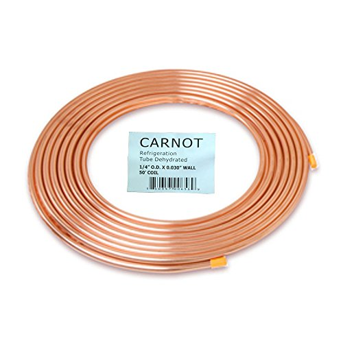 """1/4 in """". x 50 ft. Copper Soft Type Refrigeration Pipe/Tubin"""
