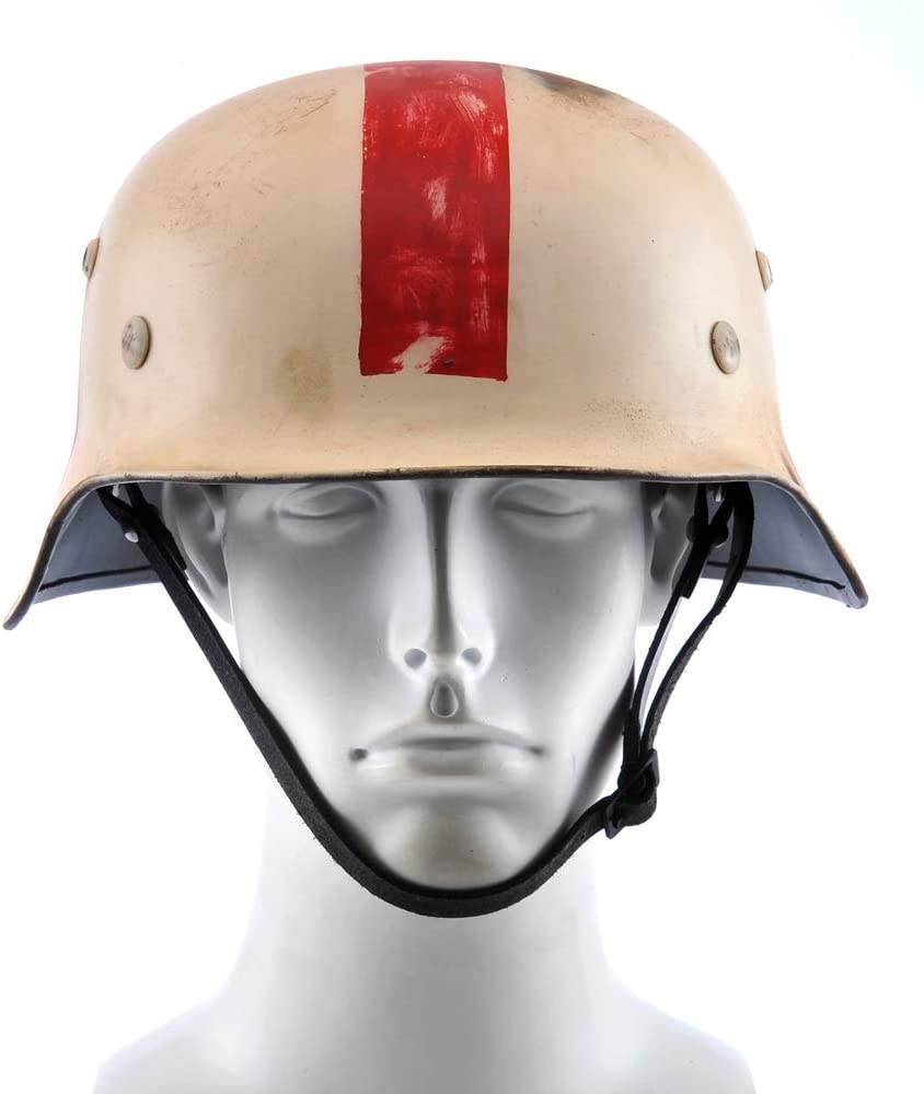 HELM-FABRIK M35 STAHLHELM GERMAN HELMET SANI DOC MEDIC BEST QUALITY