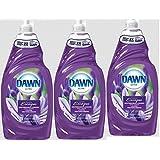 Dawn Dish Soap Dawn Escapes Mediterranean Lavender 3 Pack (9 Fl Oz Per Bottle)