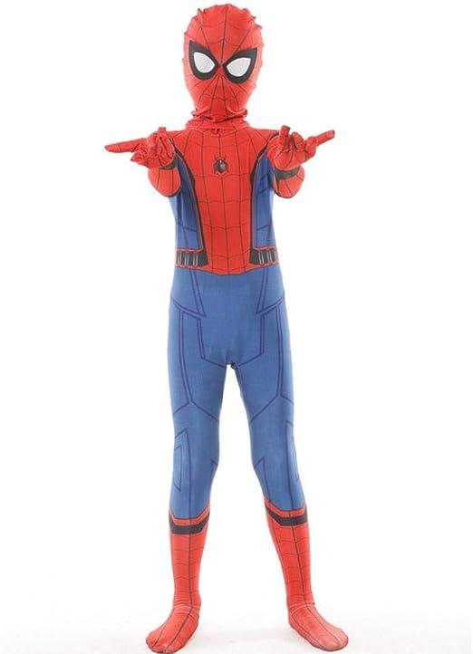 KLEIDEE Cosplay Ropa Spiderman Niños Juego De Película De ...