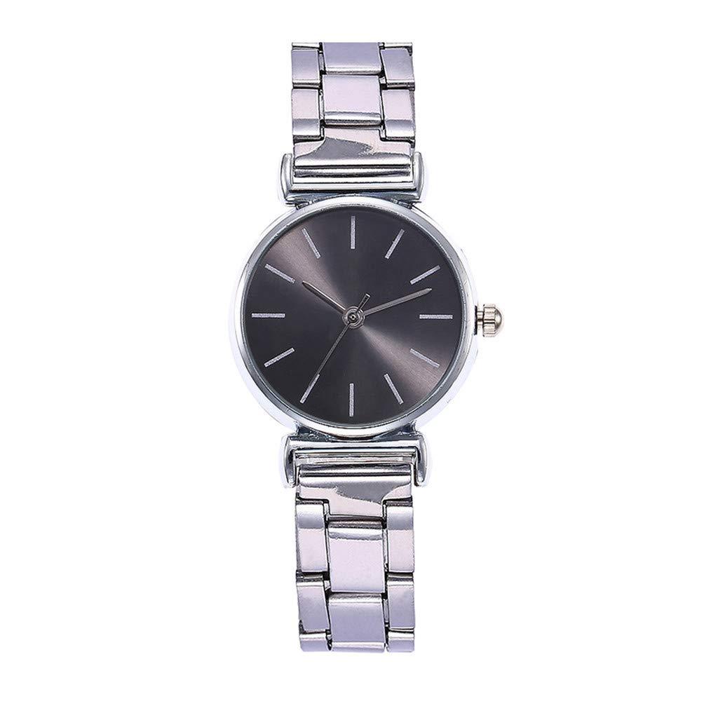 XBKPLO Classic Quartz Watches for Women's Analog Wrist Watch Steel Strap Wristwatch Fashion Accessories Temperament Souvenir Ladies Gift