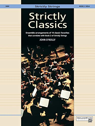 Strictly Classics, Bk 2: Viola (Strictly Strings)
