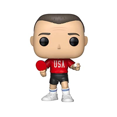 Funko Pop! Movies: Forrest Gump - Forrest in Ping Pong Outfit, Multicolor: Toys & Games