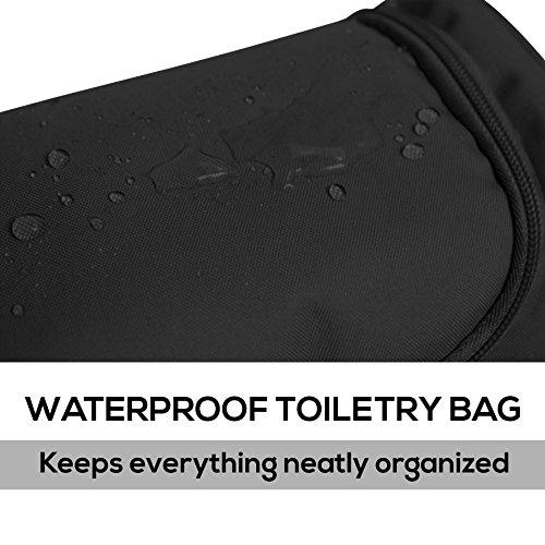 Mister Bag Toiletry Bag Hanging Travel Toiletries Bag, Black by Mister Bag (Image #1)