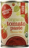Natural Value Organic Tomato Paste, 6 Ounce Cans (Pack of 24)