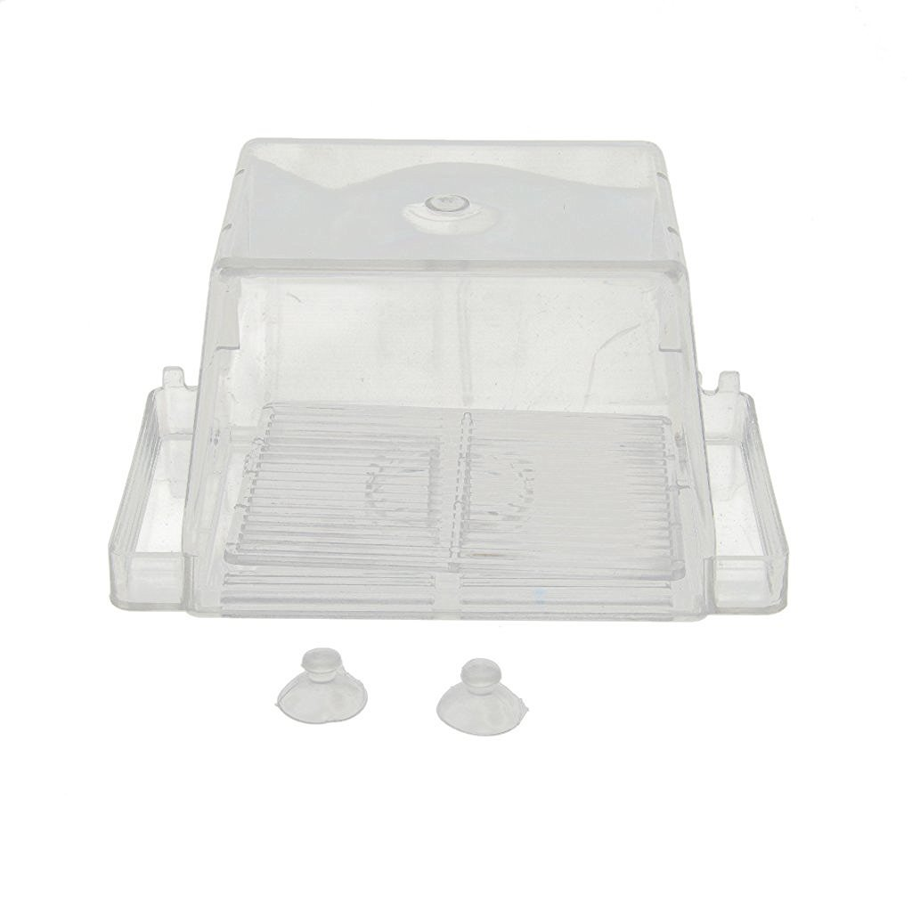 Tery Compact Cute Poissons d'aquarium pondoir Aquarium incubateur d'élevage Isolation Box (s)