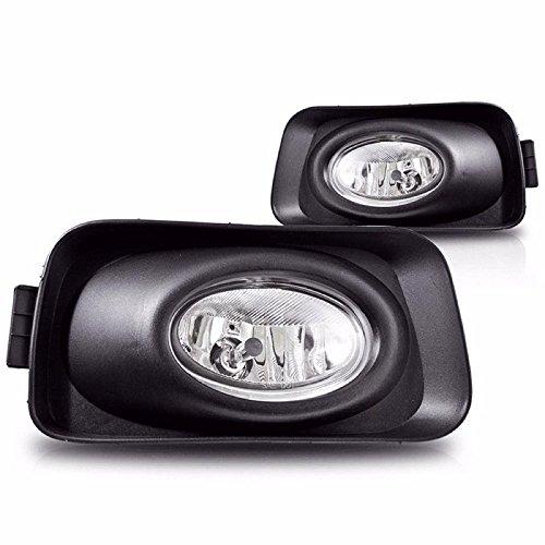 Clear Lens OEM Fog Light Bumper Lamps W/Wiring Kit For 2003-2006 Acura TSX New