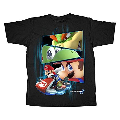 Youth: Mario Kart- Winners Stare Kids T-Shirt Size YM (Bowsers Kids)