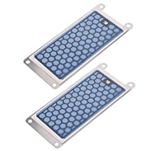 MagiDeal 2 Pieces 5g Ozone Ceramic Plate 220v Ozonizer Air and Water Ozone Generator Parts Air Purifier for Home