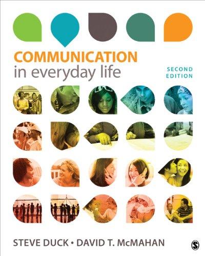 Communication in Everyday Life: A Survey of Communication Pdf