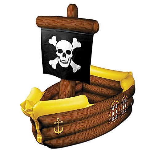 Beistle Inflatable Pirate Ship Cooler Halloween Theme Party -