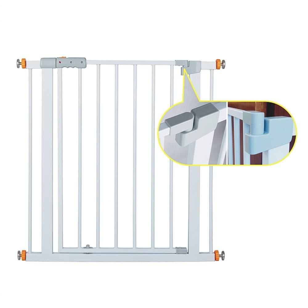 LHA ベッドガードフェンス 子供の安全のゲートベビーの階段のドアの高さの保護自動戻り安定-75-84センチメートル   B07KZ5NDPH