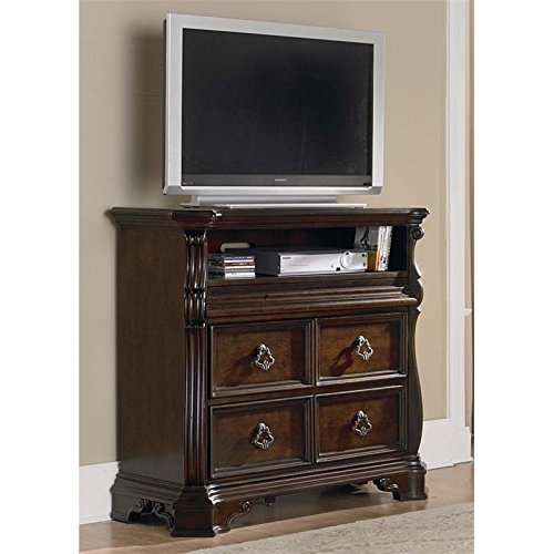 Liberty Furniture Industries 575-BR45 Arbor Place Bedroom Media Chest 44