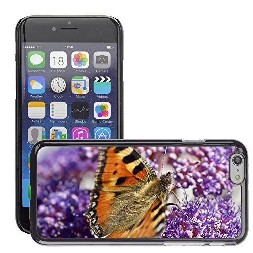 "Bild Hart Handy Schwarz Schutz Case Cover Schale Etui // M00135253 Schmetterlings Natur Blumen Farbfeld // Apple iPhone 6 PLUS 5.5"""