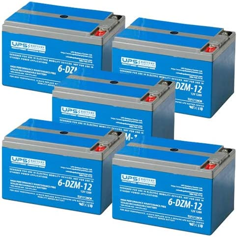 equiv 12V 12Ah Re-chargeable ELECTRIC BIKE LUCAS BATTERY 6-DZM-12