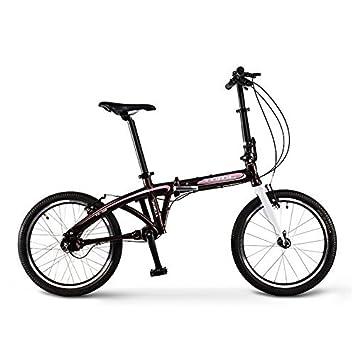 """JDC-D20, 20"""" 3 Engranajes Bicicleta de Carretera Plegable sin Cadena, Bicicleta"""