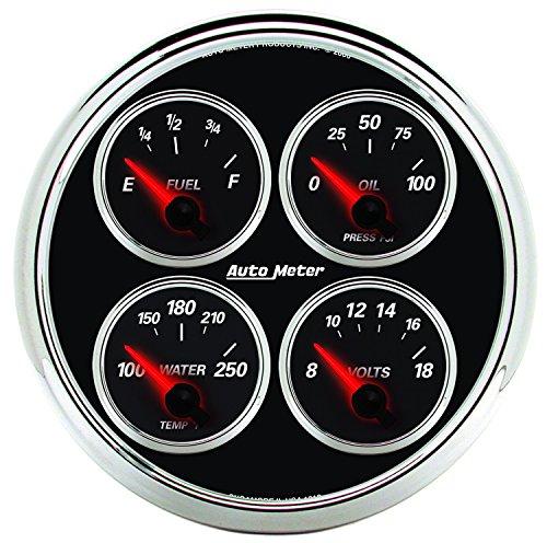 (Auto Meter 1211 Designer Black II 5