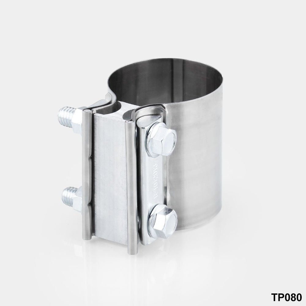"""TTOEM250SS 2.5/"""" 2 1//2/"""" Torca Torctite Stainless Steel Lap Joint Band Clamp"""