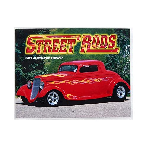 Nice 2001 2018 Street Rods 13 Month Appointment Calendar supplier