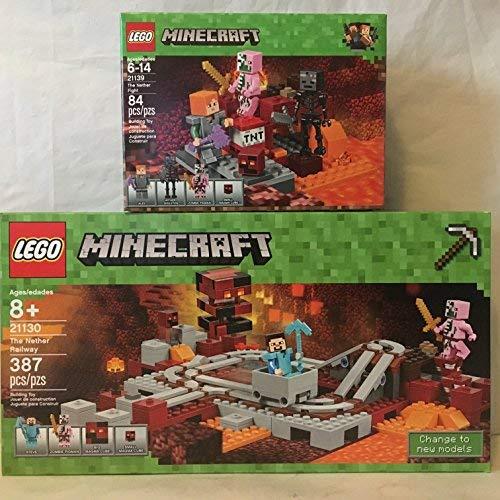 with LEGO Minecraft design