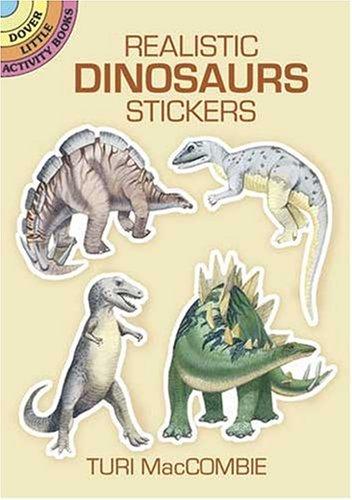 Stickers Dinosaur Little - Realistic Dinosaurs Stickers (Dover Little Activity Books Stickers)