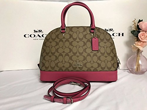 Coach Signature Sierra Satchel (Coach Cream)