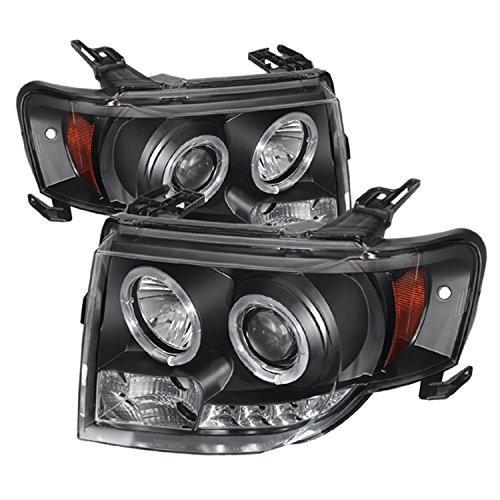 Spyder Auto PRO-YD-FES08-DRL-BK Projector Headlight