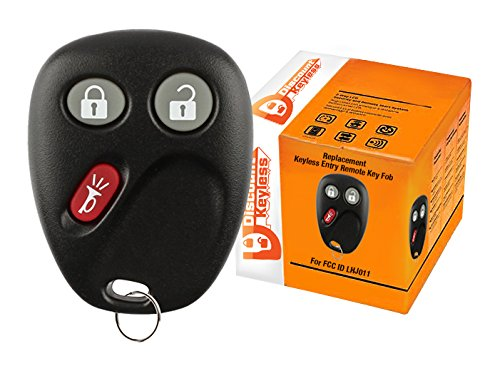 Discount Keyless Replacement Key Fob Car Keyless Entry Remote For Yukon Tahoe Suburban Silverado Sierra Avalanche Escalade LHJ011 ()