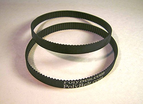 2 New Replacement Motor Drive Toothed BELTS for 315.117130 SEARS CRAFTSMAN Belt Sander by Polybelt