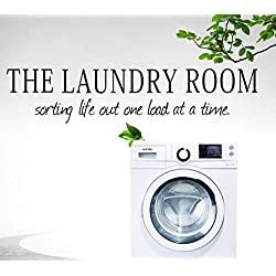 OVERMAL Decor,the laundry room Quote Removable Decal Room Wall Sticker Vinyl Art Home Decor