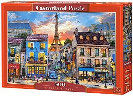 Castorland Puzzle 500/pi/èces B-52684 Rues de Paris