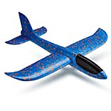 Foam Throwing Glider Air Plane Flying Toy Launches Model Outdoor Sports for Kids Children Boy Girl as Gift