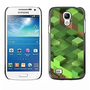 LASTONE PHONE CASE / Carcasa Funda Prima Delgada SLIM Casa Carcasa Funda Case Bandera Cover Armor Shell para Samsung Galaxy S4 Mini i9190 MINI VERSION! / Computer Mine Blocks Pc
