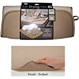 "The Original™ Dish Drying Mat XL Microfiber Absorbent Machine Washable Fast Drying 18""X24"" Multipurpose"