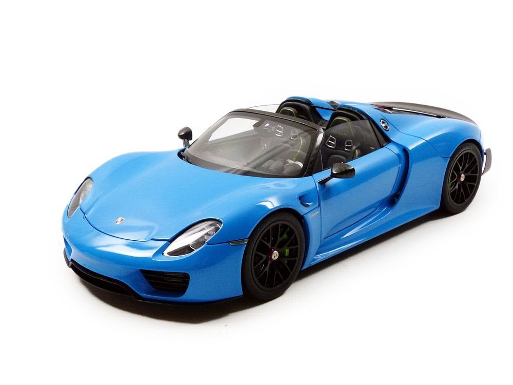 売上実績NO.1 AUTOart 1 AUTOart/18 ポルシェ 918 スパイダー ライトブルー バイザッハパッケージ 1/18 ライトブルー 完成品 B071CNSFQM, 株式会社関西自動車フィルム:09dc022c --- test.ips.pl