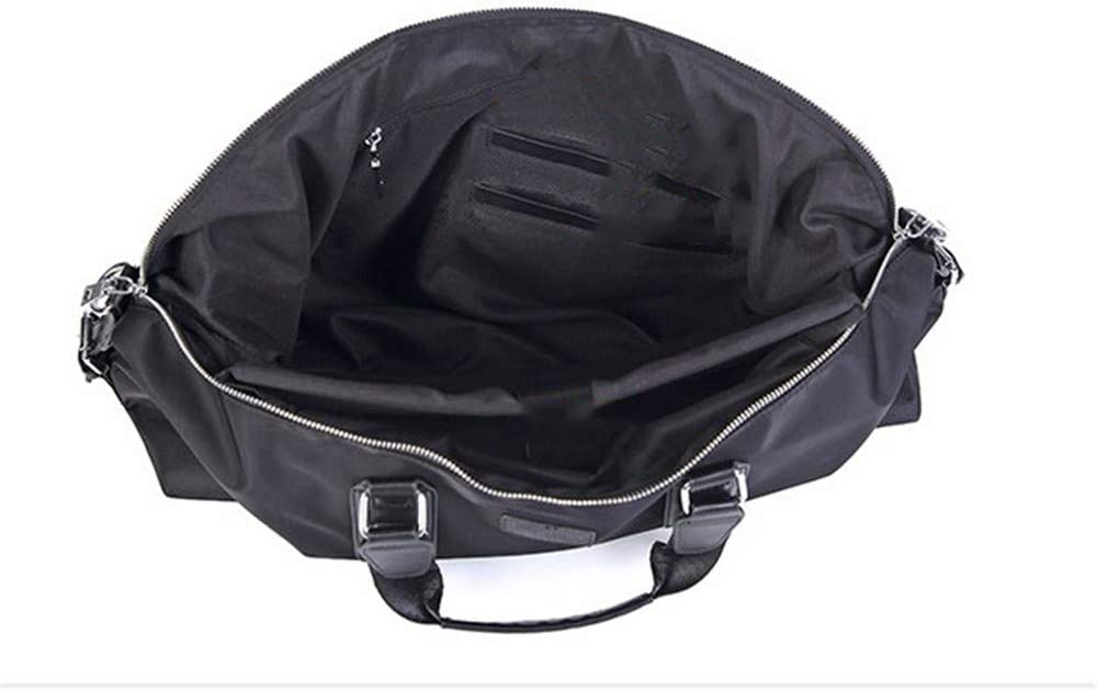 Unisex Men and Women Portable Weekend Overnight Travel Bag Gym Sports Duffel Tote Luggage Holdall Waterproof Handbag Shoulder Bags with Shoulder Straps Lightweight Carry-on Under Seat Tote Travel