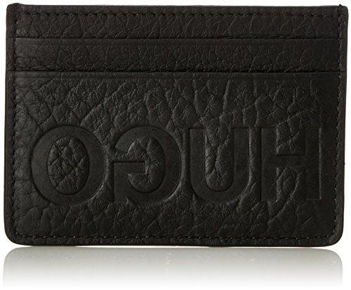 Hugo Victorian Card Uomo Wallet Nero Nero (Black)