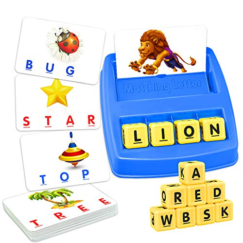 🥇 ATOPDREAM TOPTOY Matching Letter Game for Kids – Best Gifts Educational Toys