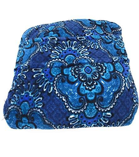Fleece Blanket Pillow Pattern - Vera Bradley Travel Fleece Blanket 60x45 Blue Tapestry