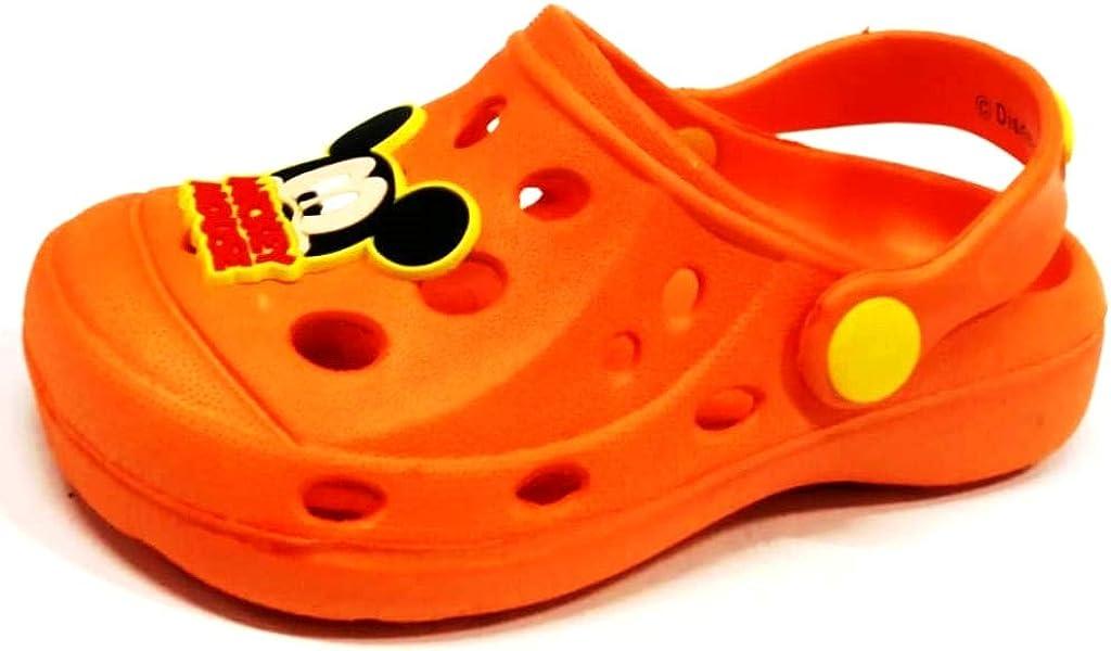 Disney-Chaussons Mickey-Orange-gar/çon