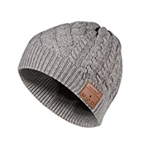 Bluetooth Beanie Hat BLUEEAR Music Toque With Stereo Speaker And 8 Hours Working Time For Winter Outdoor Sports