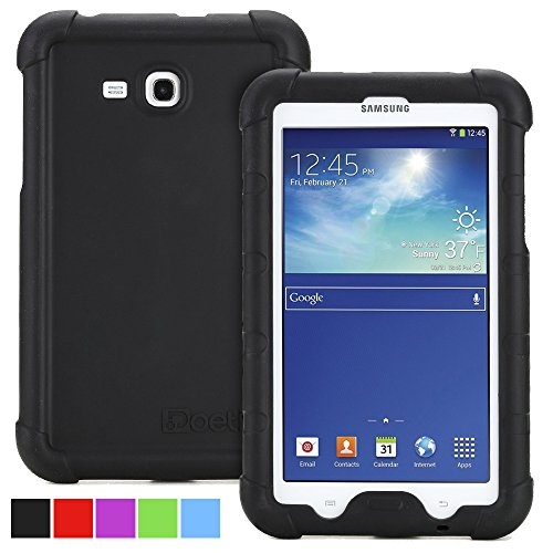 Poetic turtle skin bumper silicone case for samsung galaxy tab import it all - Samsung galaxy tab 4 lite ...